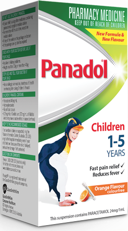 Panadol Children 1-5 Years