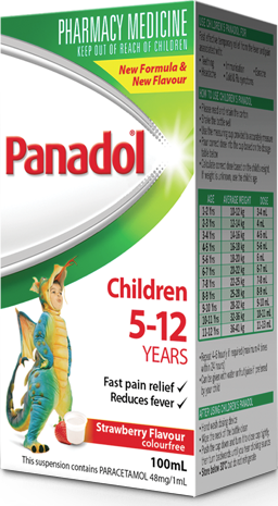 Panadol Children 5-12 Years