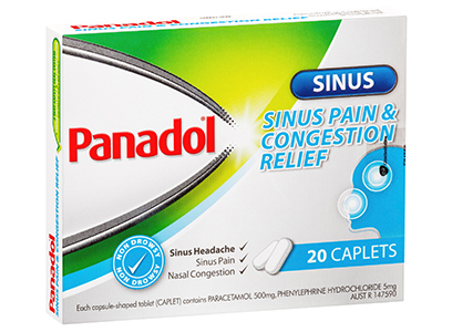 Panadol Sinus - Sinus Pain and Congestion Relief